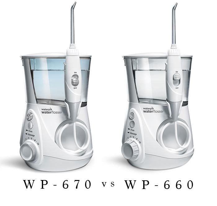 WP-660 vs WP-670 comparison